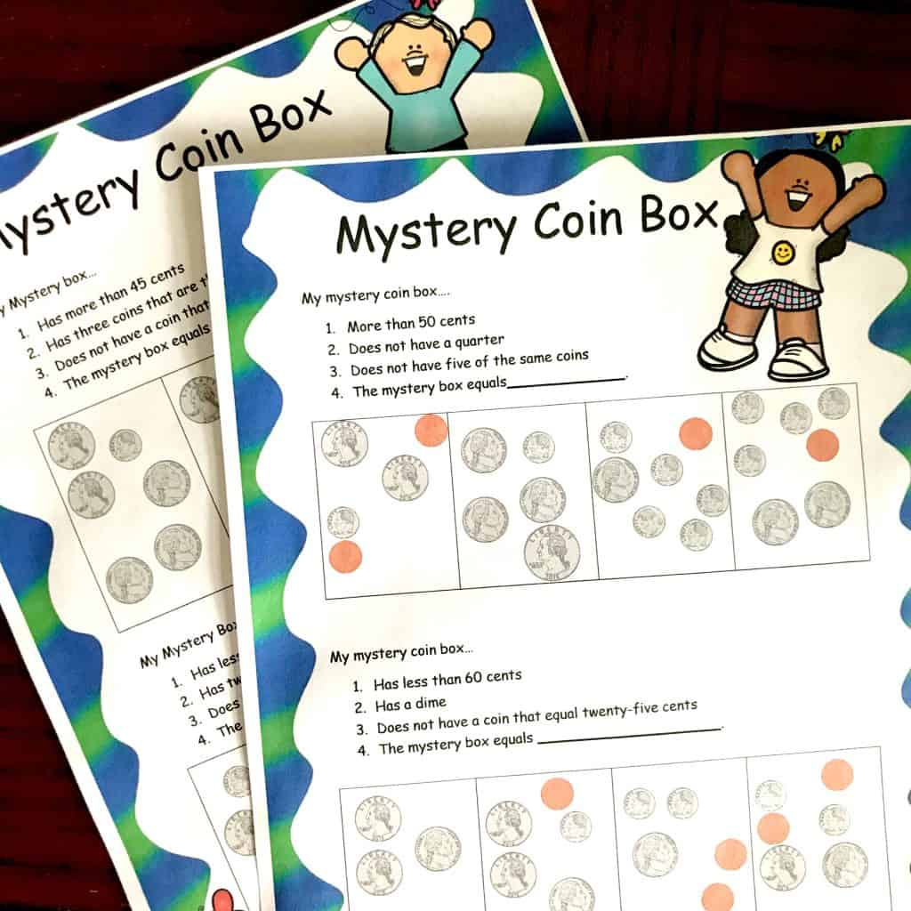 2 Free Counting Coin Worksheets With A Fun Twist