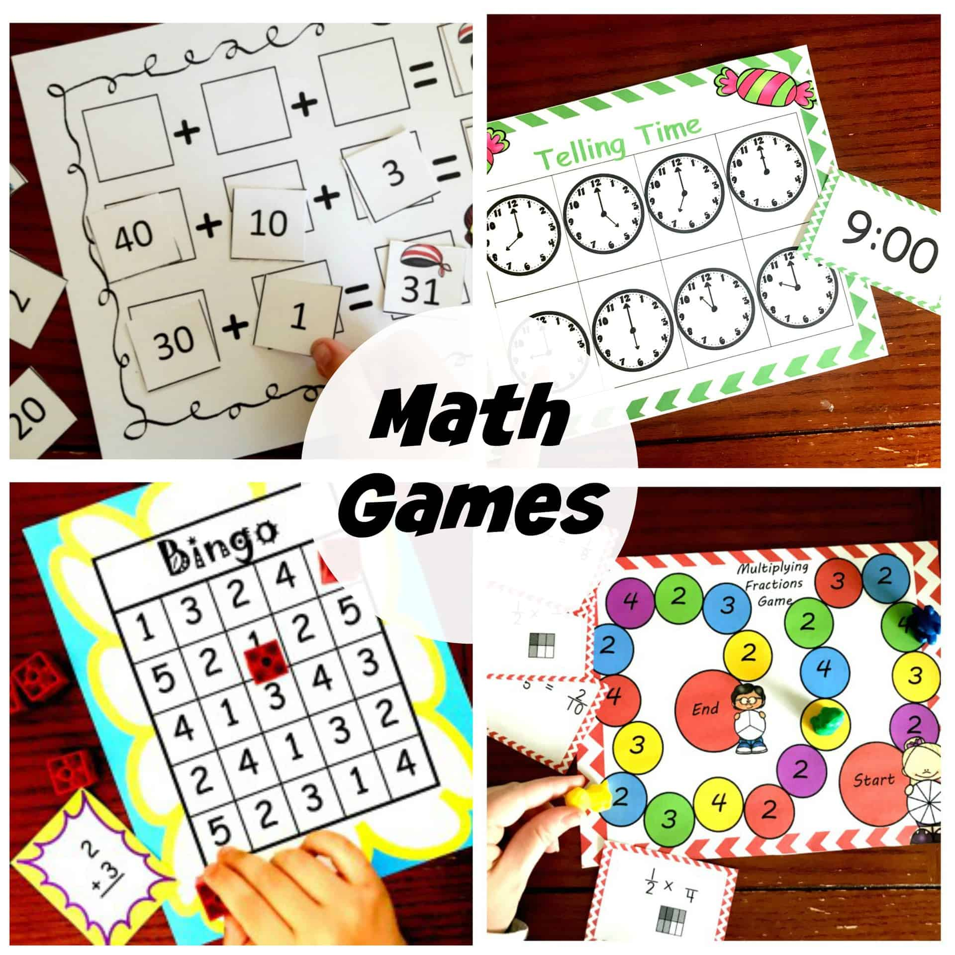 30 Easy Math Games For Practicing Math Concepts And Skills