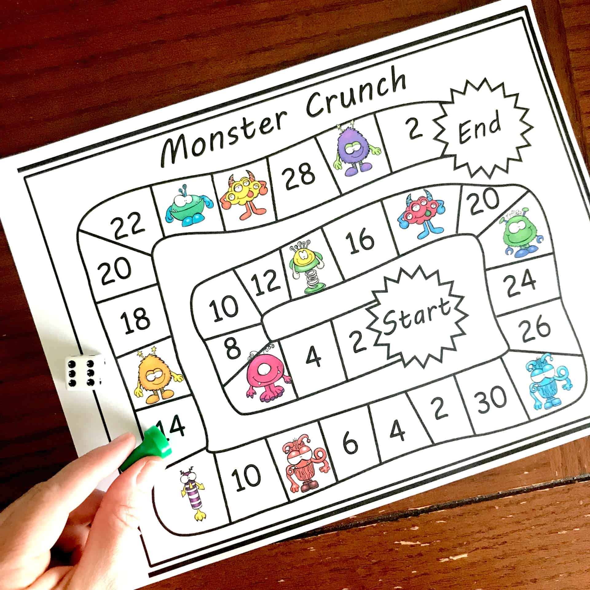 Grab these Skip Counting Games for the Classroom - Practice 2's to 15's!