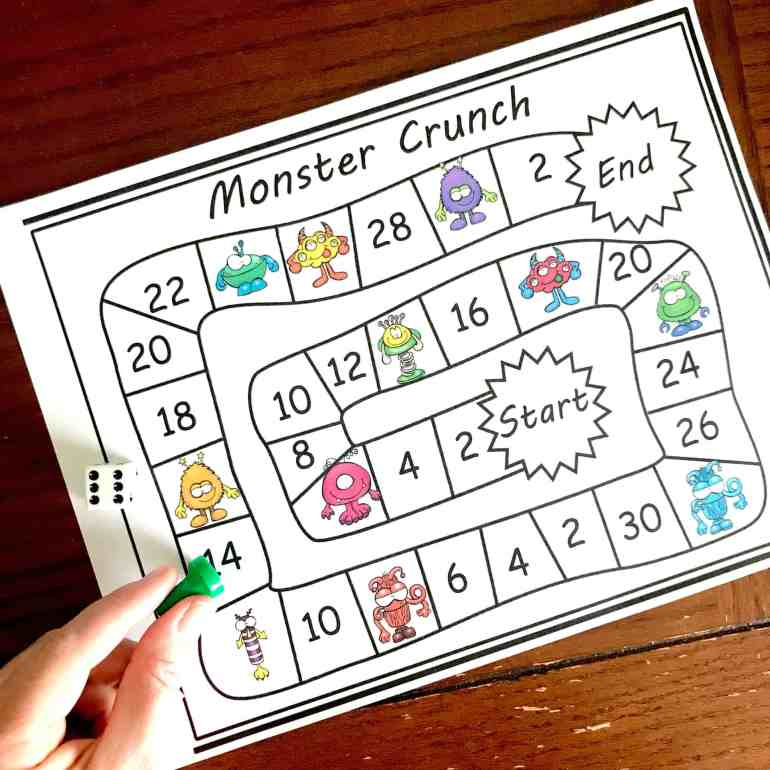 Skip Counting by 2 / FREE Printable Worksheets – Worksheetfun