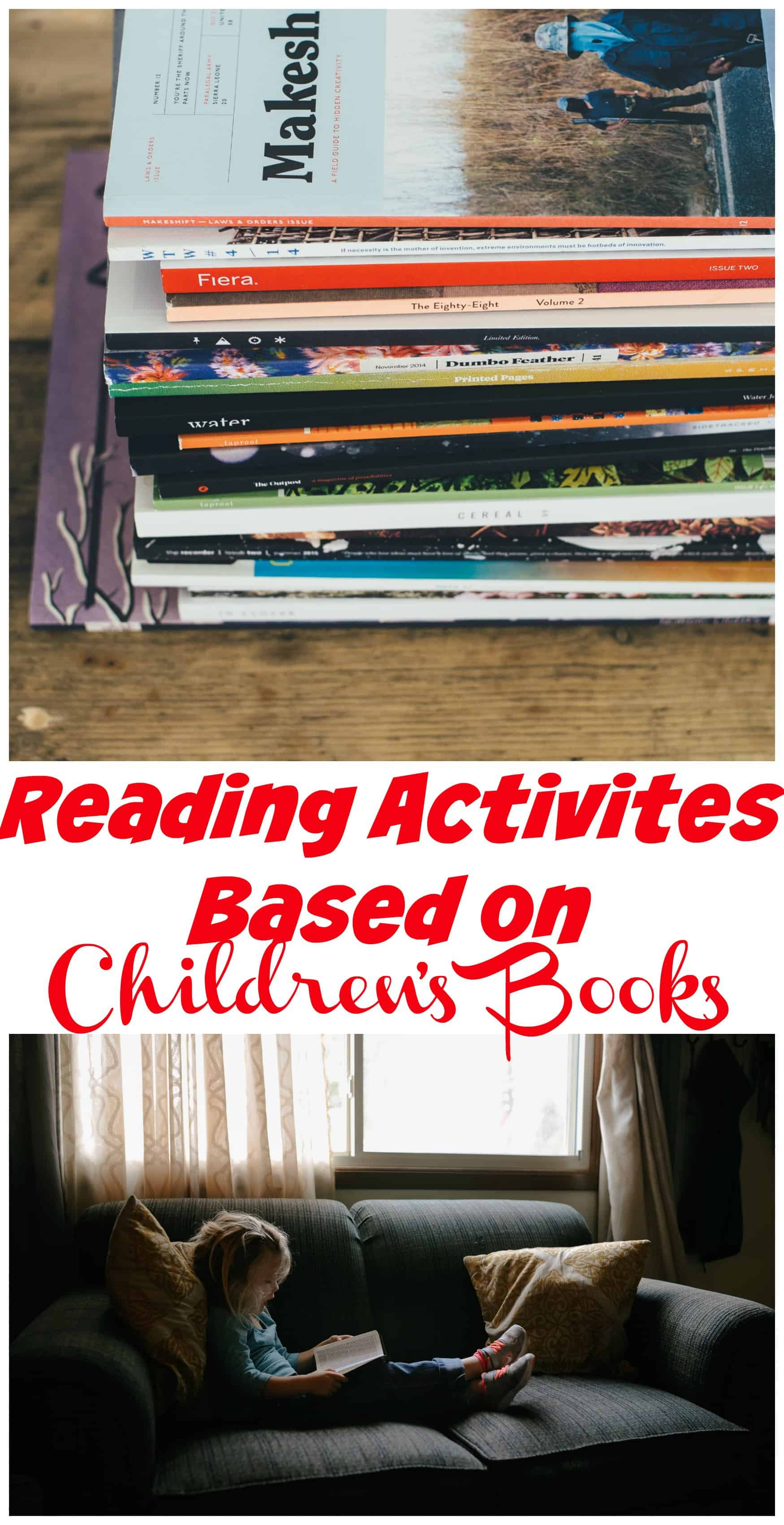 Are you looking for activitiesbased on children's books? 7Sister's has created packets that allow children to dive deeper into some of our favorite books.