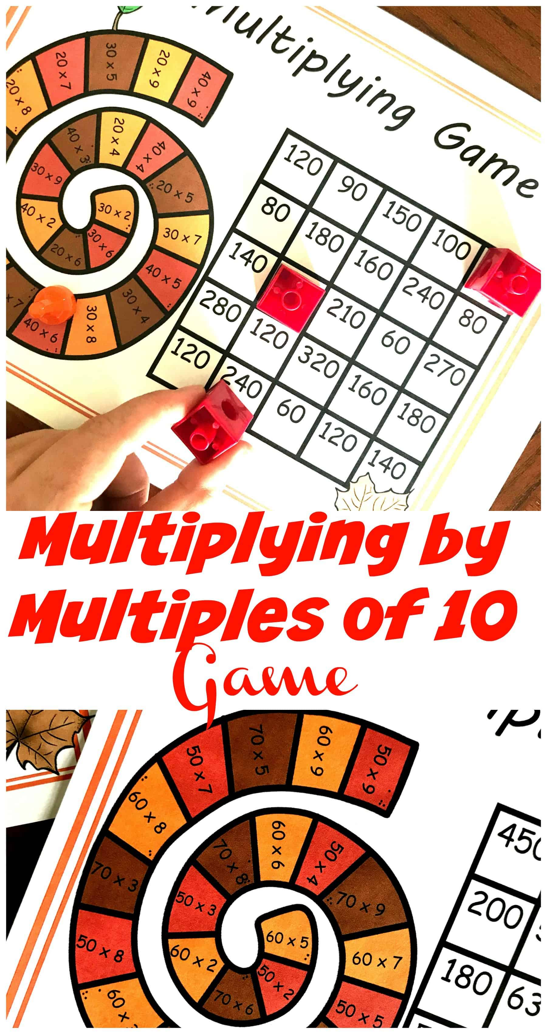 This free, no-prep game gets children multiplying by multiples of 10. Have fun working on multiply one-digit whole numbers by multiples of 10 in the range 20-90!