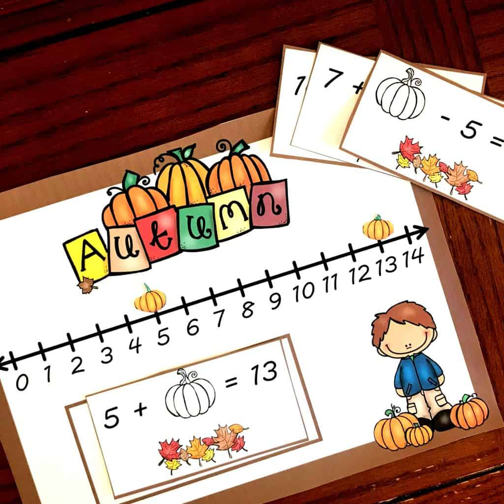 Free Fill In The Missing Number Using A Number Line Activity