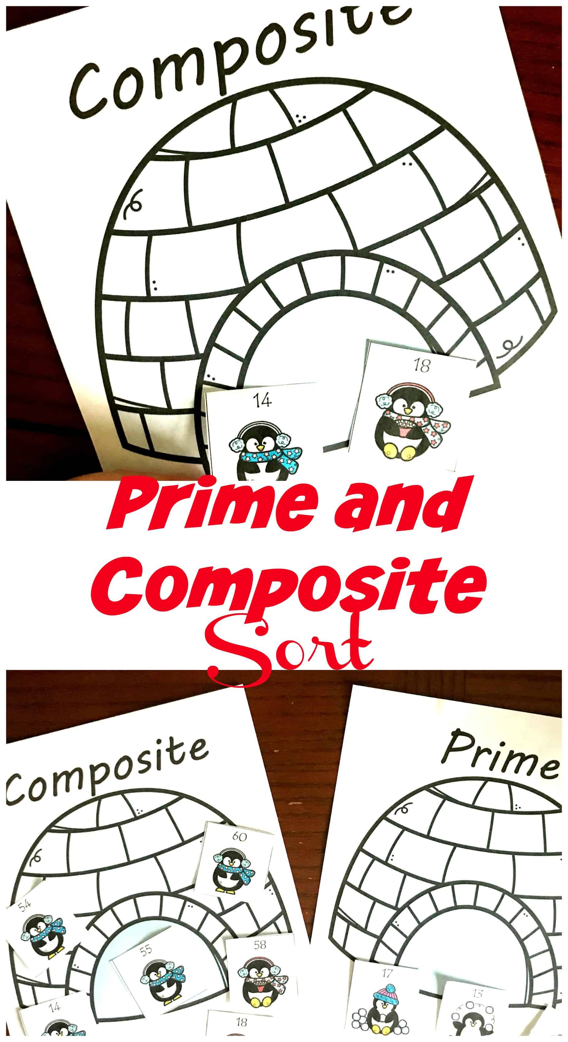 This composite and prime numbers activity gets children sorting numbers into two categories and explaining why they belong there.
