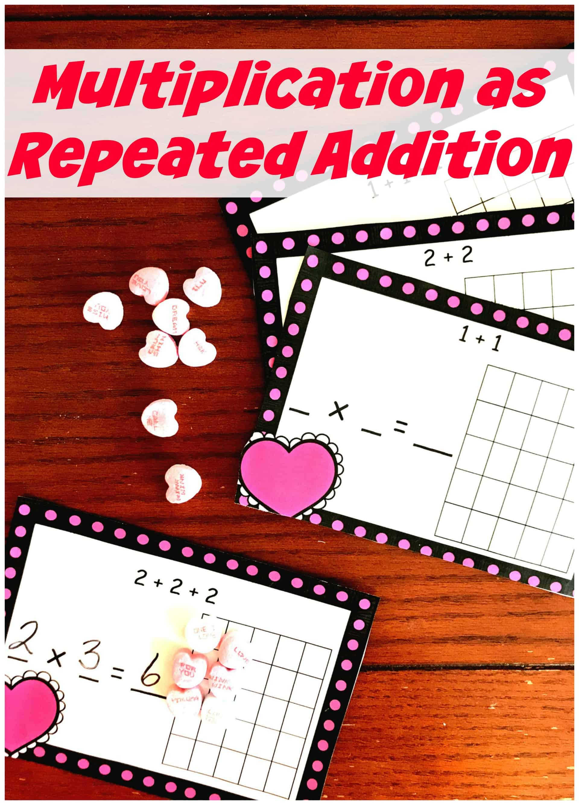 FREE Hands-On Multiplication as Repeated Addition Worksheet [ 3194 x 2298 Pixel ]