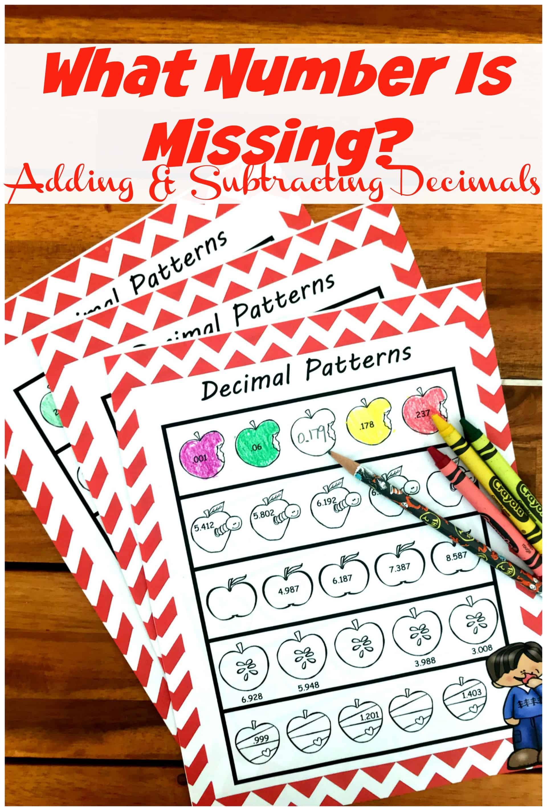FREE Adding and Subtracting Decimals Worksheet [ 3299 x 2225 Pixel ]
