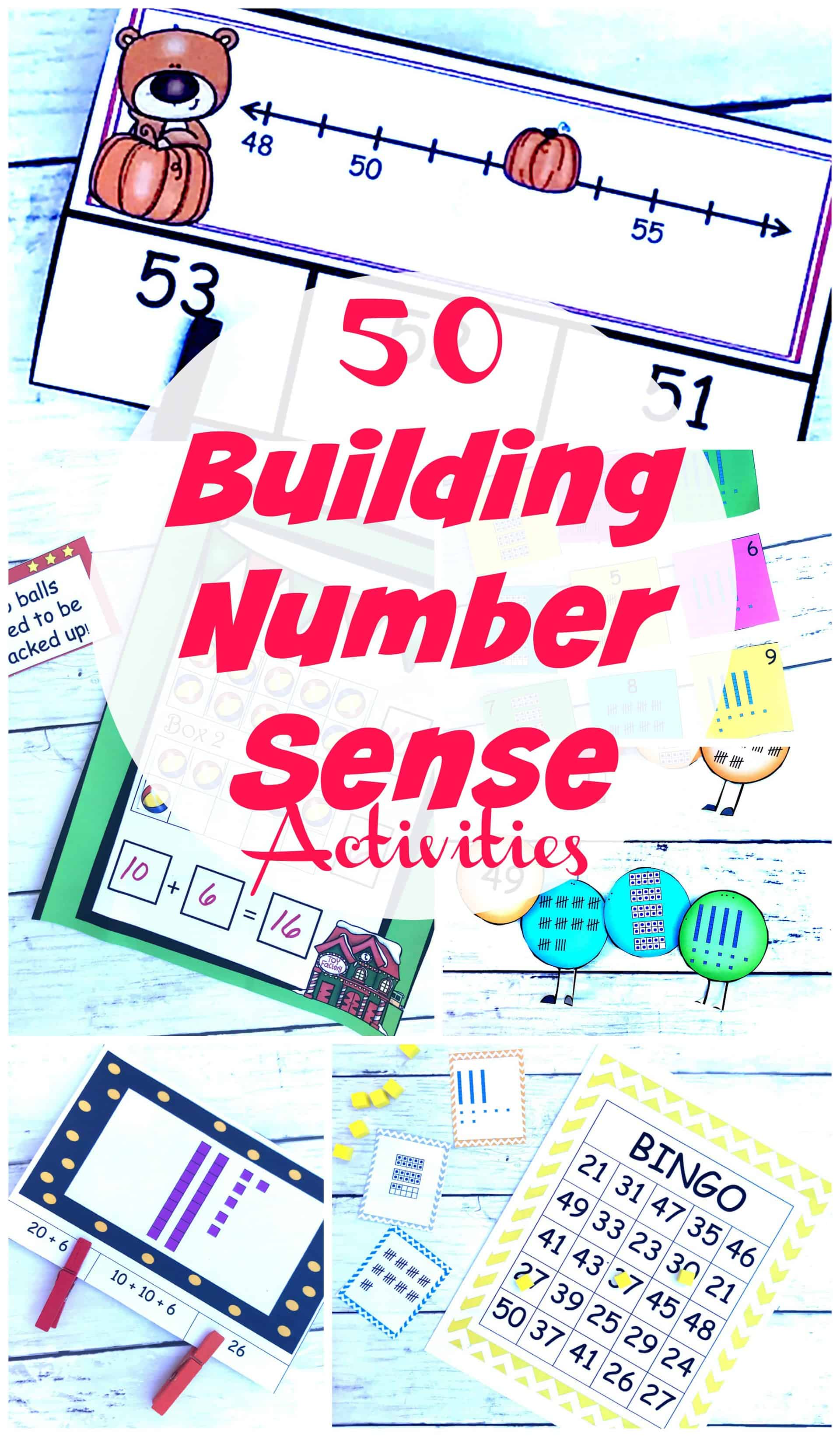 hight resolution of 50 FREE Hands-on Number Sense Activities for K