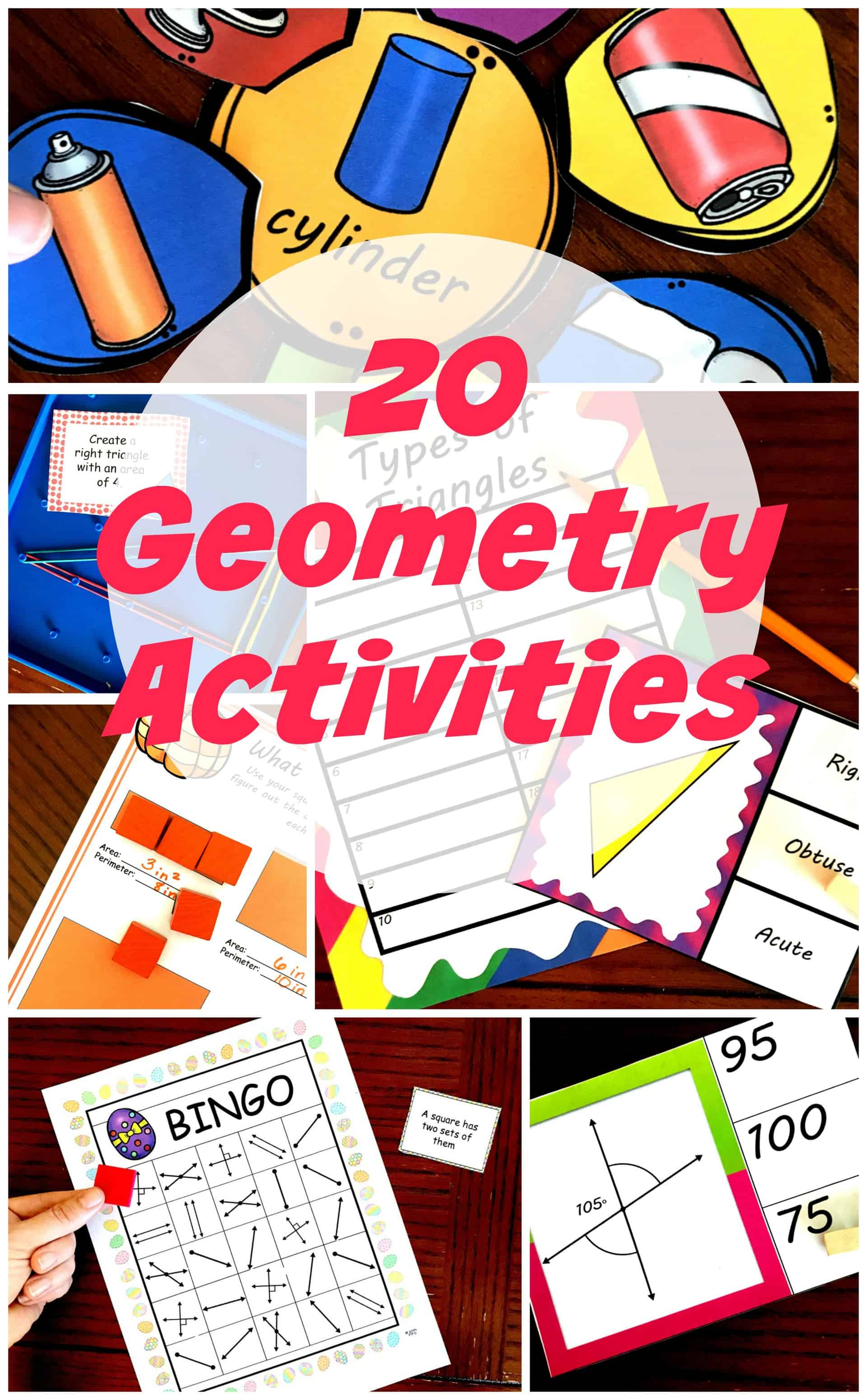 20 FREE Hands- On Geometry Activities for K - 5 Learners [ 3400 x 2106 Pixel ]