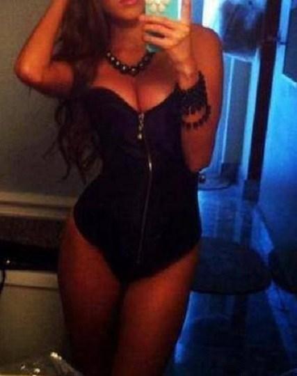 Curvy exotic busty brunette GFE escort