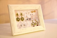 DIY Lace Picture Frame Earring Holder | You Want Me to Buy ...