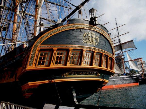 Sailing Ship Stern
