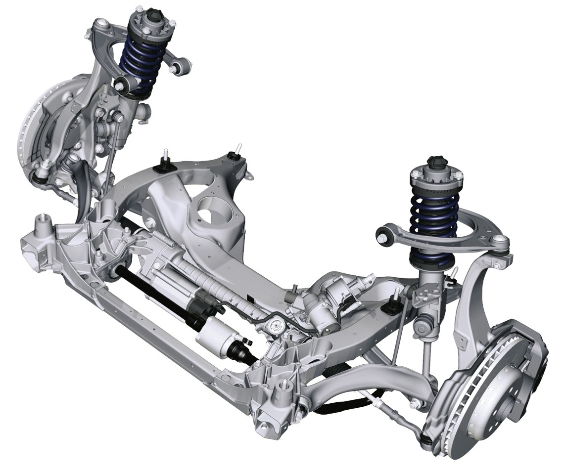 hight resolution of bmw f10 5 series front suspension