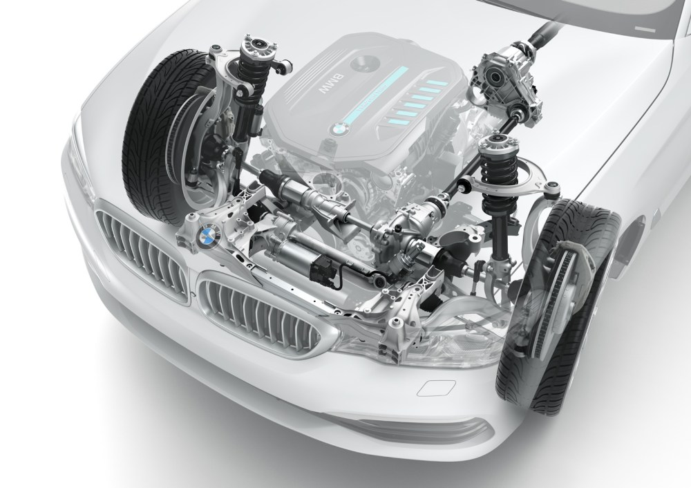 medium resolution of bmw g30 5 series front suspension