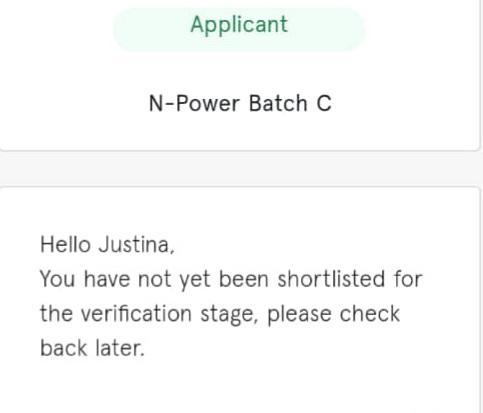 Npower verification