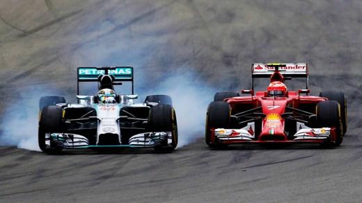 formula 1 en iyi geçişler ve pit stop kazaları