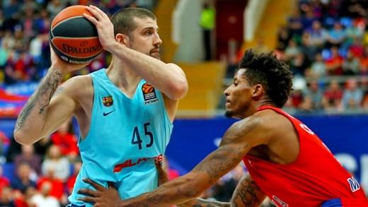 CSKA Moskova - Barcelona Lassa EuroLeague maç özeti