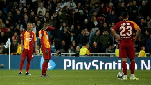 Galatasaray Real Madrid maçından özet