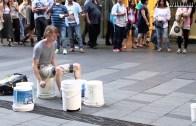 Sokakta Yapılan En İyi Bateri Gösterisi
