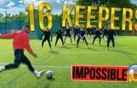 16 Kaleciye Karşı Gol Atma Challenge! (İmkansızı Zorluyorlar)