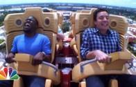 Kevin Hart'tan Roller Coaster Serüveni (Gözlerini Açamadı)