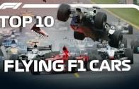 Pistlerde Havalara Uçan Formula 1 Araçları