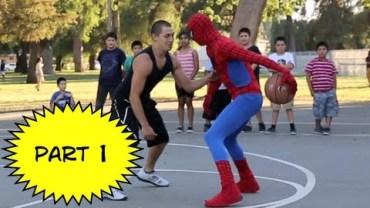 Spider Man'dan Muhteşem 1vs1 Basketbol Kapışması