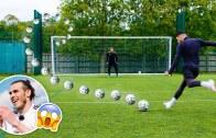 Gareth Bale Tavsiyesi İle Falsolu Şut Denemeleri