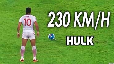 Hulk'tan 230 Kilometre Hıza Çıkan Şutlar
