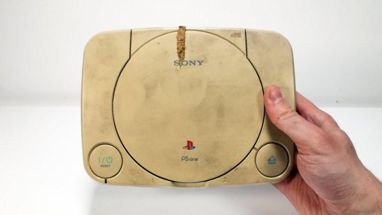 Playstation One Restorasyonu (Sarıdan Beyaza Dönüş)