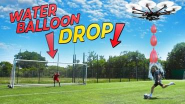 Su Balonu Patlatmalı Penaltı Challenge