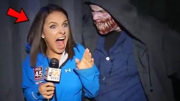 Cadılar Bayramı Kostümü ile Tv Stüdyoları Baskını