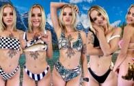 Phoebe'den Nefes Kesen Göğüs Altı Bikinileri