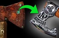 Vikinglerden Kalma Antik Balta Restorasyonu