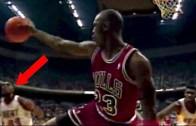 Efsane Basketbolcu Michael Jordan'dan İnanılmaz Fakeler