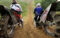 Motorcuların İmkansız Yamaç Tırmanışı