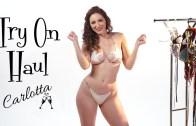 Seksi Bikini Şovu İle Carlotta'yı İzlemeye Doyamayacaksınız!
