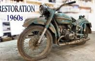 Eski Sovyet Motosikleti Tamiratı – İnanılmaz Değişim