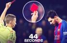 Lionel Messi – Kariyerindeki İlk ve Son Kırmızı Kart!