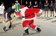 Noel Baba Kostümü İle Potanın Kralı İş Başında!