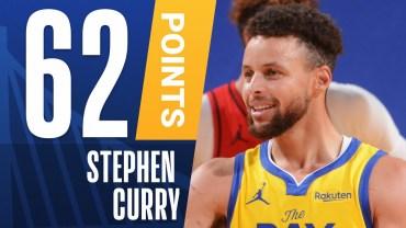 Stephen Curry – Kariyer Rekoru – 62 Puan