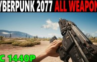 CyberPunk 2077 – Oyunda Kullanılan Silahların Tanıtımı