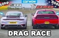 Dodge Challenger ve Porsche 911 Muhteşem Kapışması