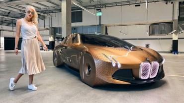 BMW Vision Next 100 – Tarihin En Canlı Kosept Arabası