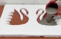 Çimento Kullanarak İlham Kaynağı Sehpa ve Saksı Yapımı