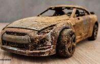 Nissan GT-R – Pas İçindeki Model Araba Restorasyonu