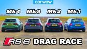 Audi RS 6 – Nesiller Arası Kısa Mesafe Yarışı Karşınızda