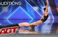 Jürilerin Coşkusunu Arttıran Akrobatik Dans İkilisi