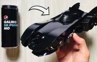Kola Kutularından Geri Dönüşüm Harikası Batmobile!