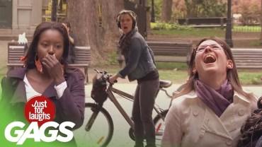 Bağımlı Olacağınız Komiklikte Olan Bisiklet Şakaları