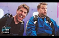 James Corden ve Tom Cruise'la Hava Dalışına Hazır Olun!